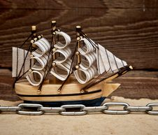 Free Model Ship Royalty Free Stock Images - 17683149