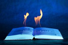 Free Burn Book Stock Photo - 17683430
