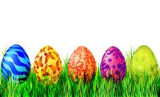Free Easter Eggs Royalty Free Stock Photos - 17683478
