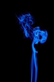 Free Alien Mother - Blue Smoke Royalty Free Stock Photos - 17684058