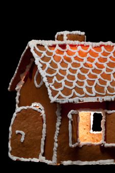 Free Christmas Gingernut House Royalty Free Stock Photos - 17684088