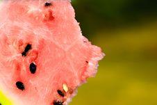 Free Slice Of Watermelon Stock Image - 17684211