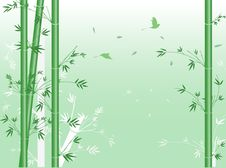 Free Vector Green Bamboo. Stock Image - 17684381