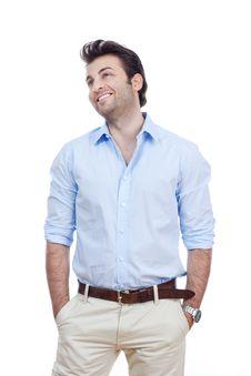 Free Man Smiling Stock Photos - 17684683