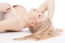 Free Beautiful Young Blond Dreaming Royalty Free Stock Photo - 17684795