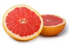 Free Grapefruit Isolated Stock Photography - 17685252