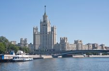 Free Moscow. High-rise Building Royalty Free Stock Photos - 17685678