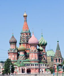 Free St. Basil S Cathedral. Moscow Royalty Free Stock Photography - 17685777