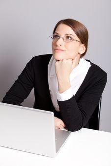 Free Thinking Woman Royalty Free Stock Image - 17685806