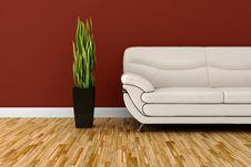 Free 3d Interior Studio Render Stock Image - 17686401