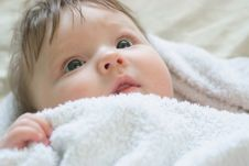 Free A Little Boy Lying Royalty Free Stock Images - 17686499