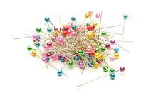 Free Colored Needles To Sew Stock Photography - 17686822