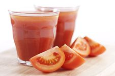 Free Fresh Tomato Juice Stock Images - 17687014