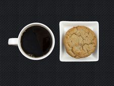 Free Coffee And Cookies Stock Photos - 17687623
