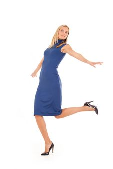 Free Dancing Lady Stock Photography - 17687662