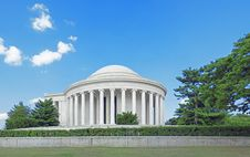 Free Jefferson Memorial Stock Photo - 17687880
