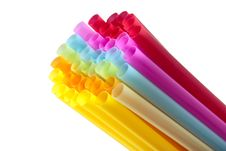 Free Colorful Of Straw Stock Image - 17688041