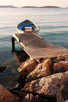 Free Boat On Sea Stock Images - 17688064