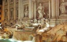 Free Fontana Di Trevi Royalty Free Stock Photos - 17688168