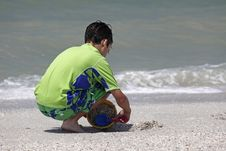 Free Sand Boy Royalty Free Stock Photos - 17688268