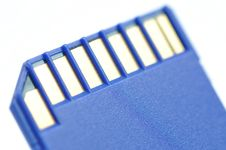 Free Close-up Memory Card Royalty Free Stock Photo - 17688975