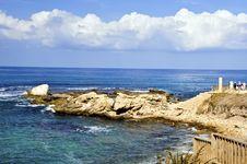 Free Caesarea Coast Stock Image - 17689021