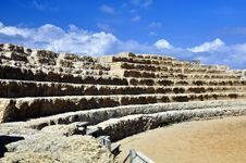Free Caesarea Roman Theater Stock Images - 17689034