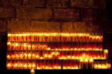 Free Candels In A Church Stock Photos - 17689663