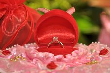 Free Wedding Diamond Ring Stock Images - 17689804