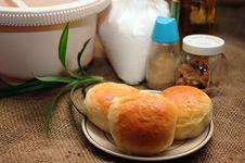 Free Bread Bun Royalty Free Stock Photography - 17689937