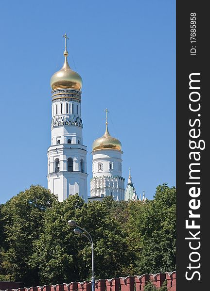 Ivan the Great Bell. Kremlin. Moscow
