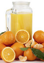 Free Orange Juice And Oranges Stock Photos - 17690463