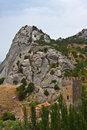 Free Genoese Medieval Fortress Royalty Free Stock Images - 17694399