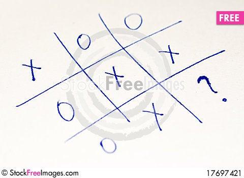 Free Tic Tac Toe Stock Image - 17697421