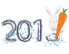 Free 2011 Year Of The Rabbit Stock Photos - 17691273