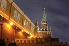 Moscow Kremlin Tower Stock Image