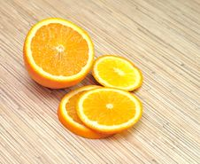 Free Fresh Orange Royalty Free Stock Photo - 17691985