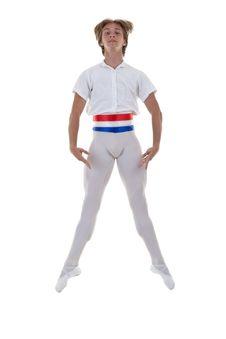 Free Ballet Man Jumping Stock Photos - 17692443