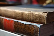 Free Pile Of Old Books Royalty Free Stock Image - 17692606