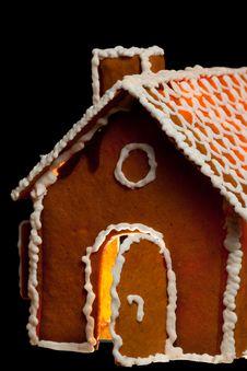 Free Christmas Gingernut House Royalty Free Stock Photo - 17692735