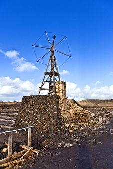 Free Salt Refinery, Saline From Janubio, Lanzarote Stock Photos - 17693193
