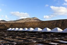 Free Salt Refinery, Saline From Janubio, Lanzarote Stock Photos - 17693203