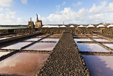Free Salt Refinery, Saline From Janubio, Lanzarote Stock Photography - 17693252