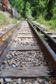 Free Railway Royalty Free Stock Photography - 17693357