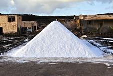 Free Salt Refinery, Saline From Janubio, Lanzarote Stock Photography - 17693572