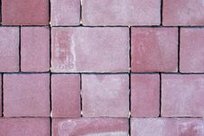 Free Red Cube Paving Stone Royalty Free Stock Image - 17694076