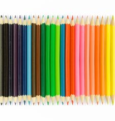 Free Pencils Royalty Free Stock Photo - 17694255