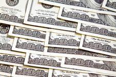 Free Hundred Dollar Denominations Royalty Free Stock Photos - 17694308