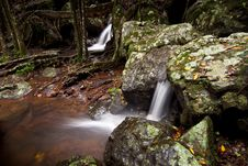 Free Cascades In Australian Rain Forest Royalty Free Stock Images - 17694439