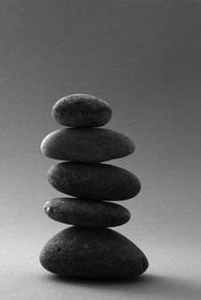Free Piled Up Pebbles Royalty Free Stock Photos - 17695048